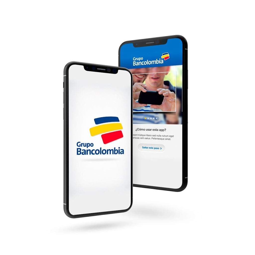 Mobile app solution for International Bank User interface (UI) / User Experience (UX)